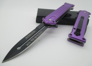 Joker Purple Knife