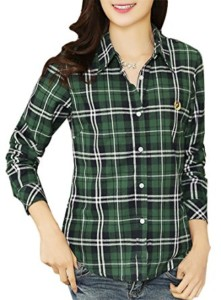 long-sleeve-classic-casual-plaid-cotton-flannel-shirt