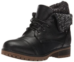 womens-combat-style-lace-up-ankle-bootie