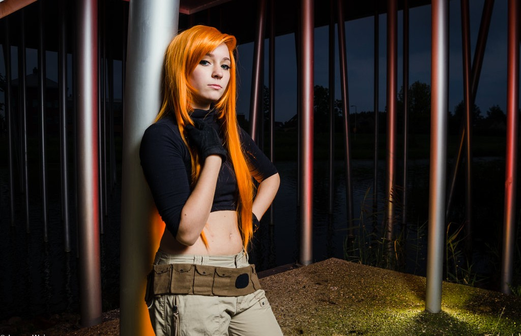 Create Your Own Team Possbile With The Kim Possible Costume To Beat